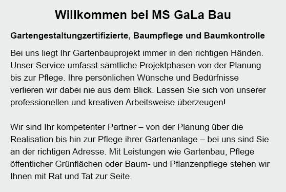 Gala Bau für  Lüchow (Wendland), Woltersdorf, Wustrow (Wendland), Küsten, Lübbow, Luckau (Wendland), Jameln und Trebel, Salzwedel (Hansestadt), Lemgow